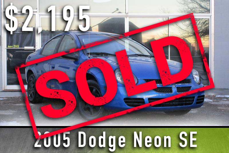 2005 Dodge Neon Sold
