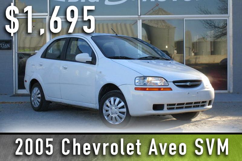 2005 Chevrolet Aveo SVM