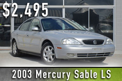 2003 Mercury Sable LS