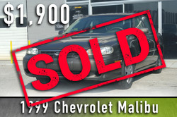1999 Chevy Malibu Sold