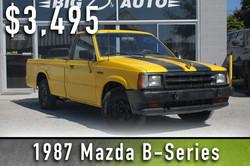 1987 Mazda B-Series