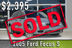 2005 Ford Focus Sold