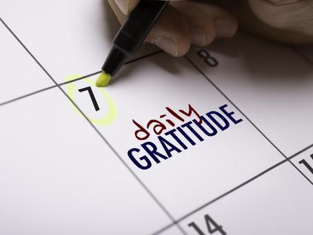 Gratitude: An Everyday Practice