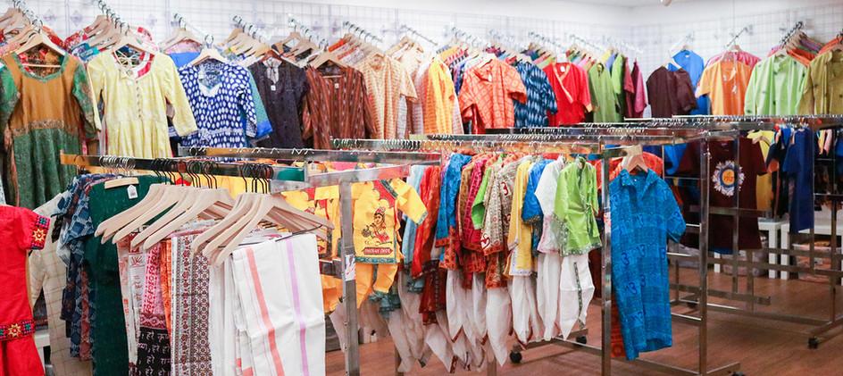Clothing at New Vrindaban Gift Shop 2