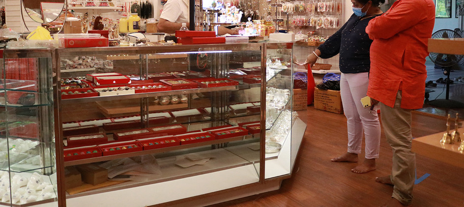 Jewelry at New Vrindaban Gift Shop