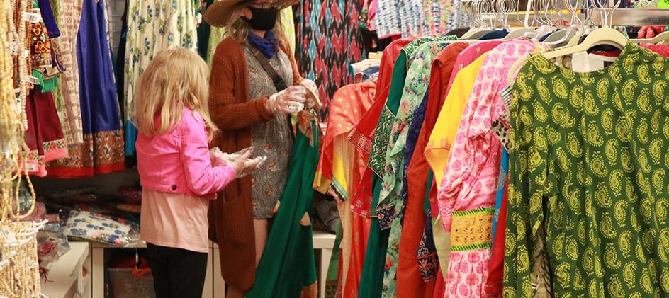 Clothing at New Vrindaban Gift Shop