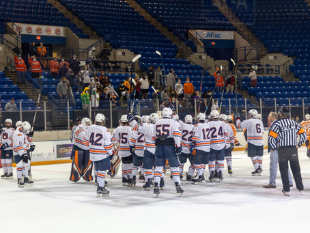 Tigers christen Columbus Civic Center, defeat Ice Vols 3-1