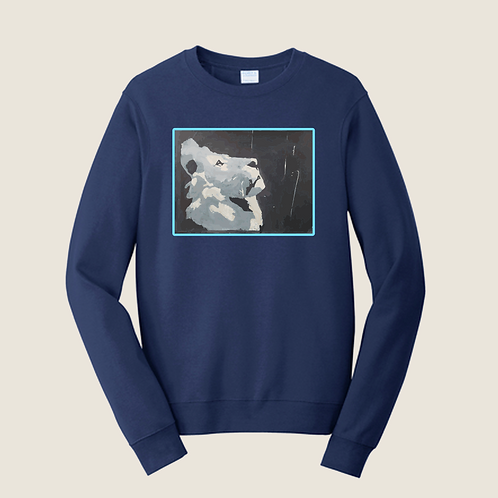 Nabors Cut #Rob J Lion Crewneck Sweatshirt