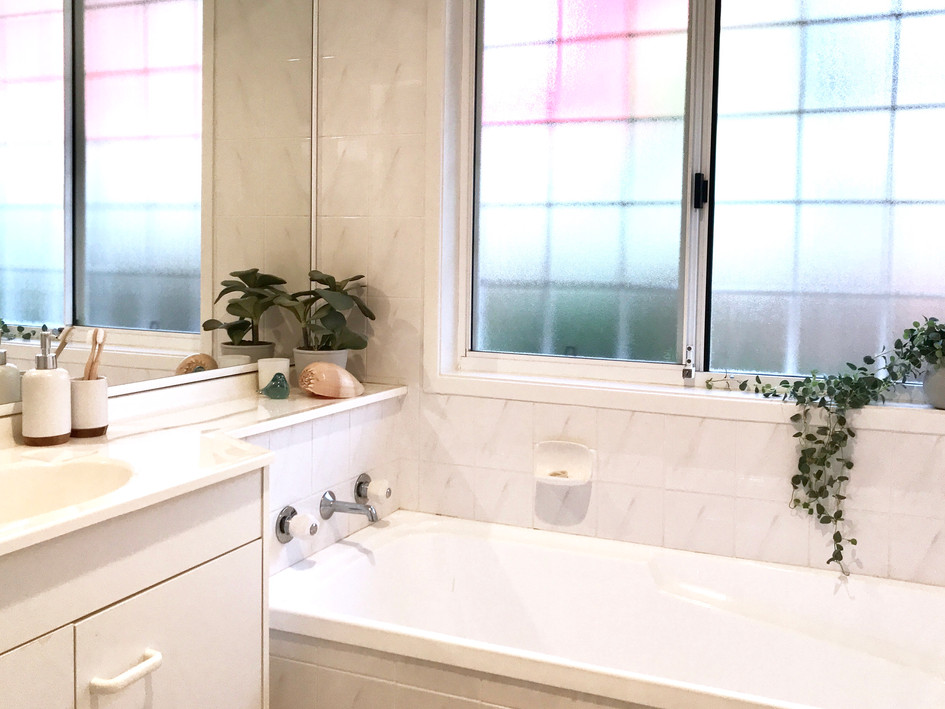Bathroom- after styling
