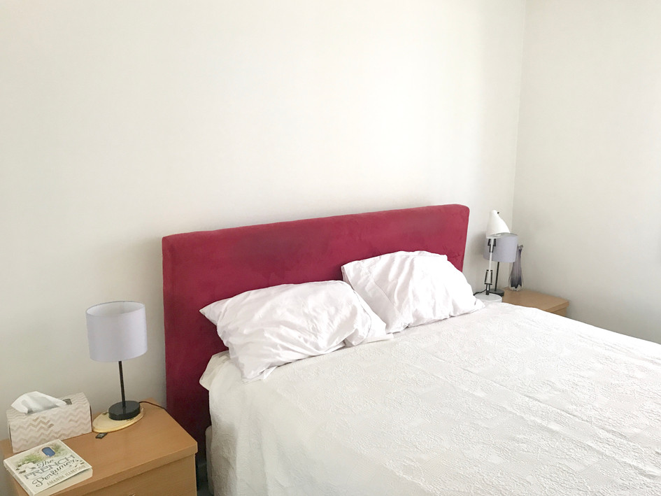 Bedroom 2- before styling