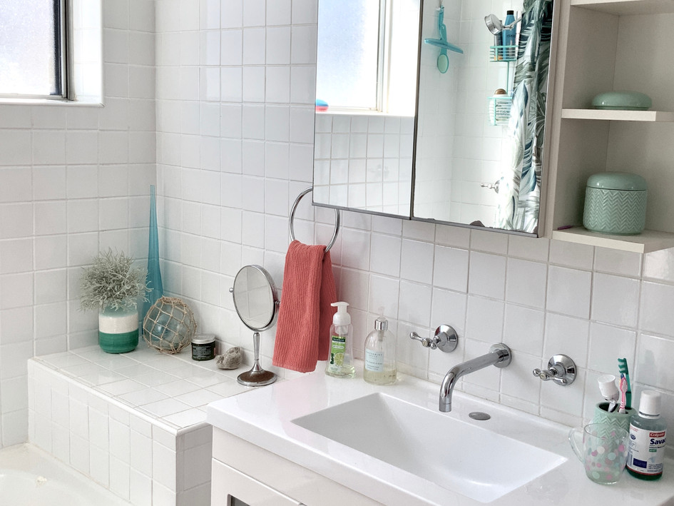 Bathroom- before styling