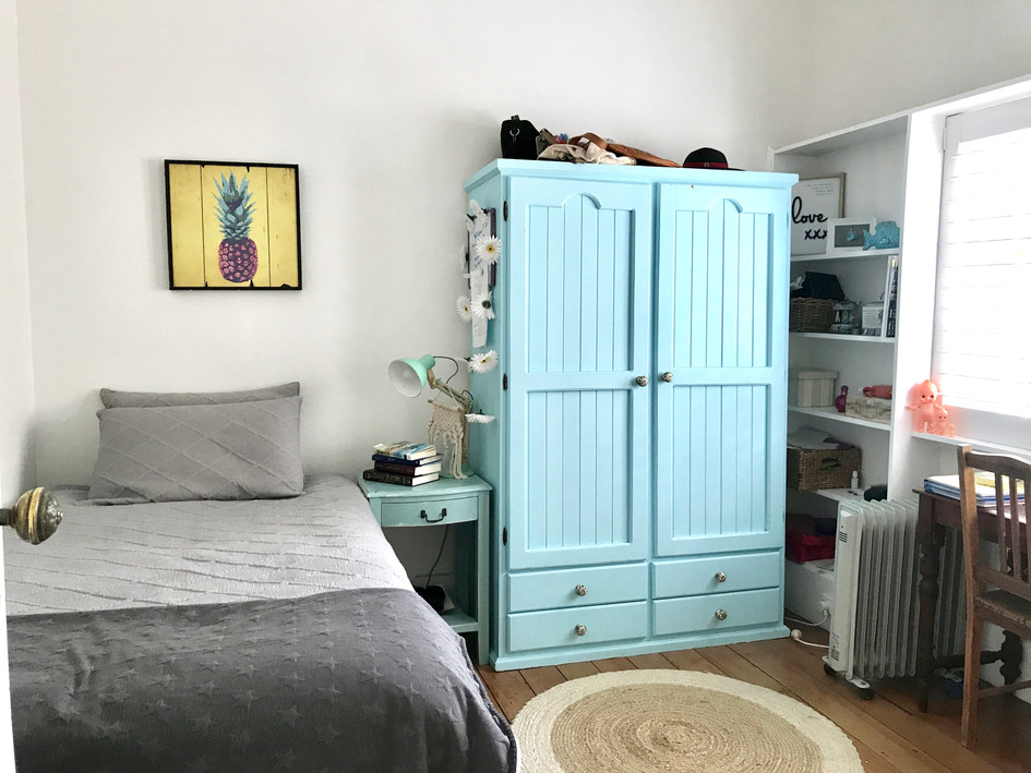 2nd Bedroom before styling
