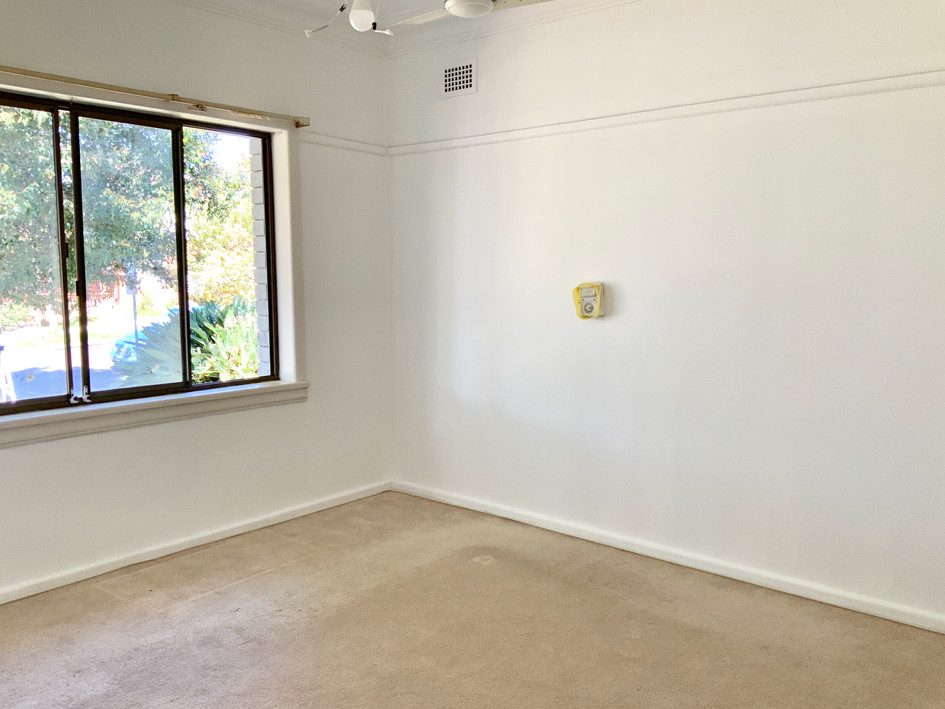 Master Bedroom- before styling