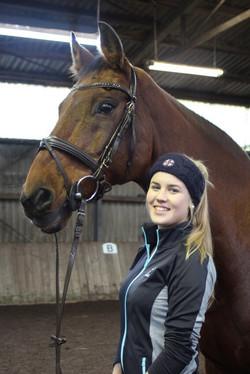 Leonie mit Captain Orion