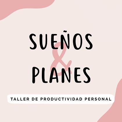 WORKSHOP SUEÑOS Y PLANES