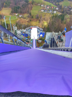 Ski Jumping in Wisla, Poland