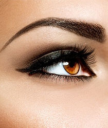 tattoed eye make-up
