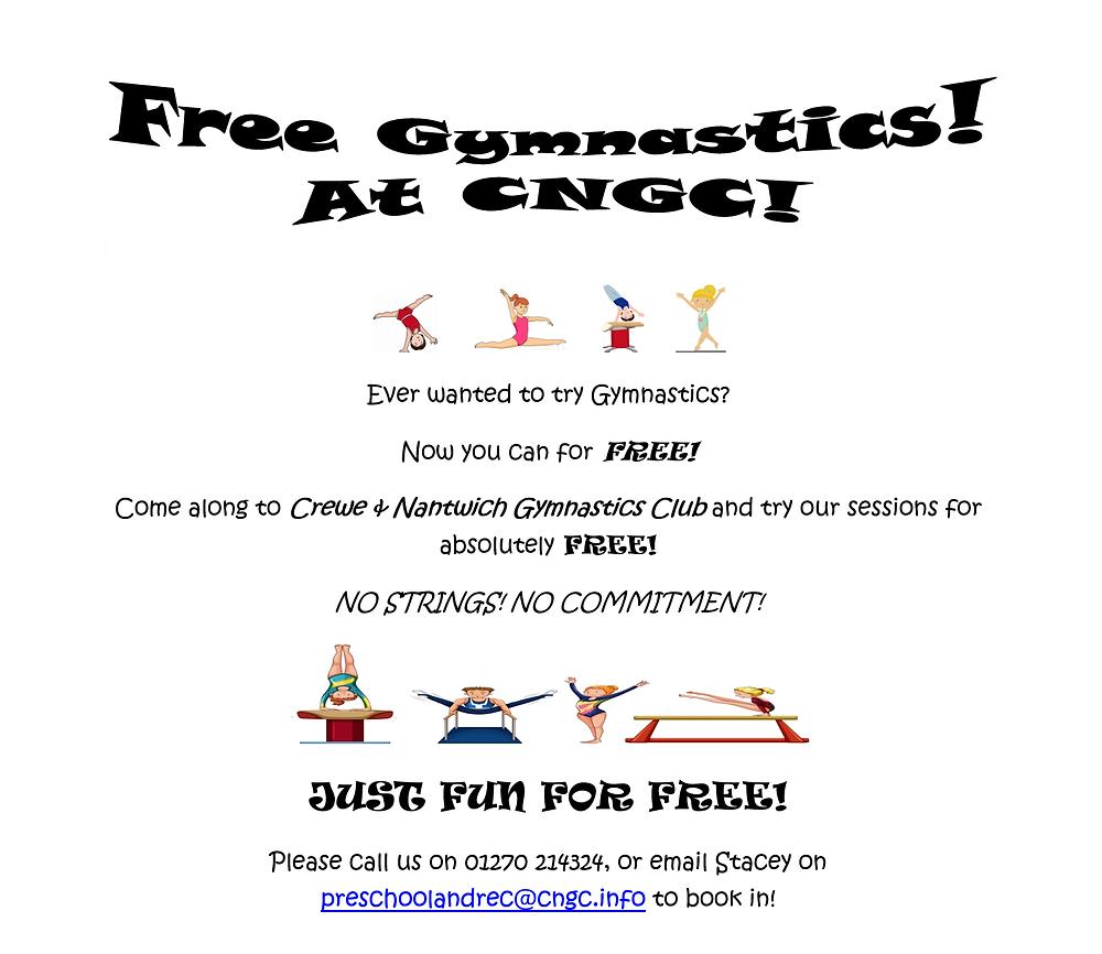 Free Trial Gymnastics