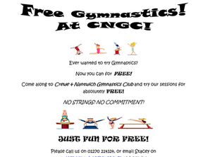 Free Gymnastics!? Yes Please!