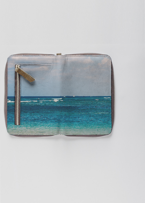 Hawaii Ocean Zip Wallet