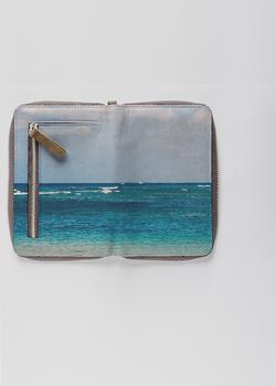 Hawaii Ocean Zip Wallet