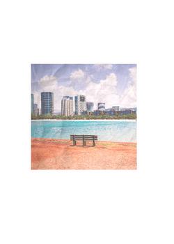 Ala Moana Park Beach