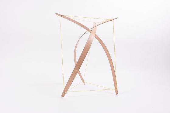 Sculpture-tenségrité bois - Louis ASTIER