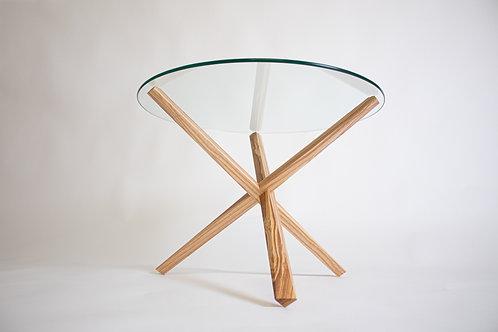 Table Diamant Frêne-olivier