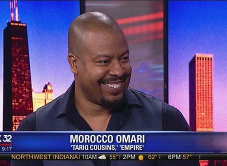 Empire actor, Morocco Omari, providing global acting workshops