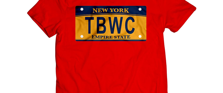 TBWC License Plate