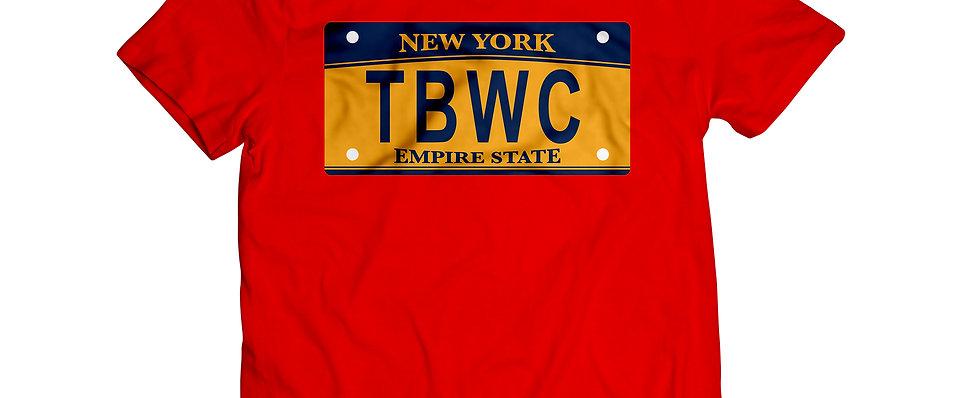 TBWC License Plate