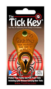 "The ""Original Tick Key"" Tick Removal Device"