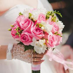 Самый необычный букет невесты