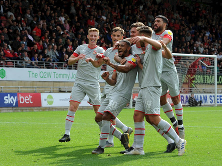 STFC Are Now 4th In The League After Their 3-1 Win Against Leyton Orient