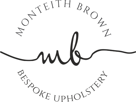 Monteith Brown bespoke upholstery logo