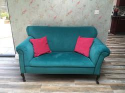 Antique drop-arm sofa