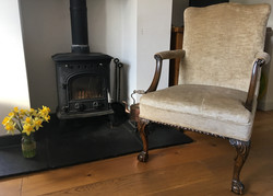 Traditional stuff-over chair
