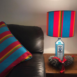 Bombay and Stripes Co lampshade