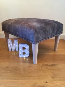 Handmade custom footstool
