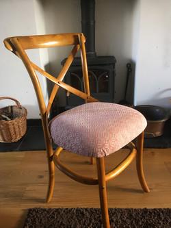 Dining chair rebuild
