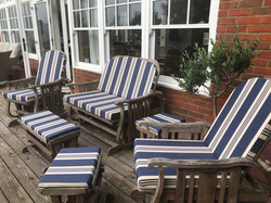 Replacement garden cushions