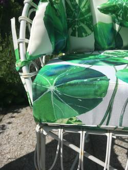 Garden seat cushion