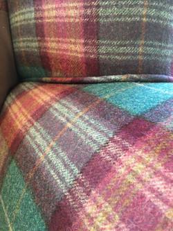 Threshfield Wool fabric from Abraham Moon & Sons