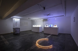 Artience Daejeon 17, Solo Exhibition 'Microorganism, Ice and Light' Parking Gallery, Daejeon, Korea