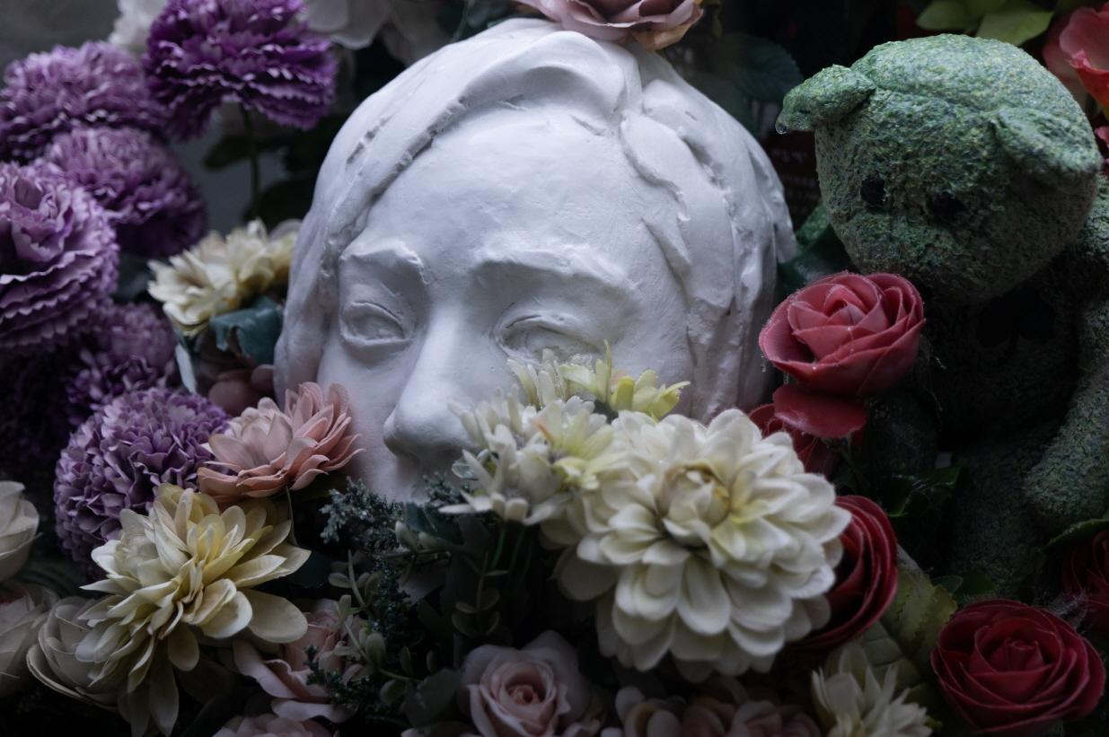 얼음 속의 기억_얼굴 꽃