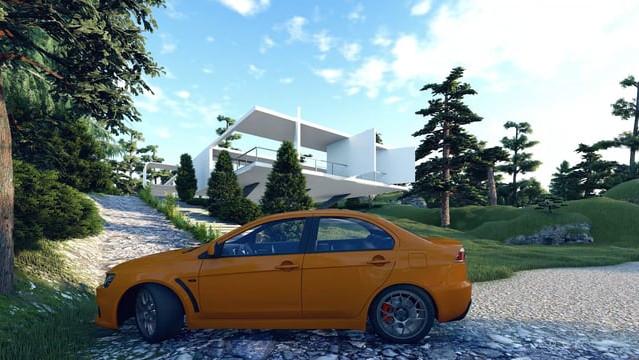 Casa Federman by Oscar Niemeyer