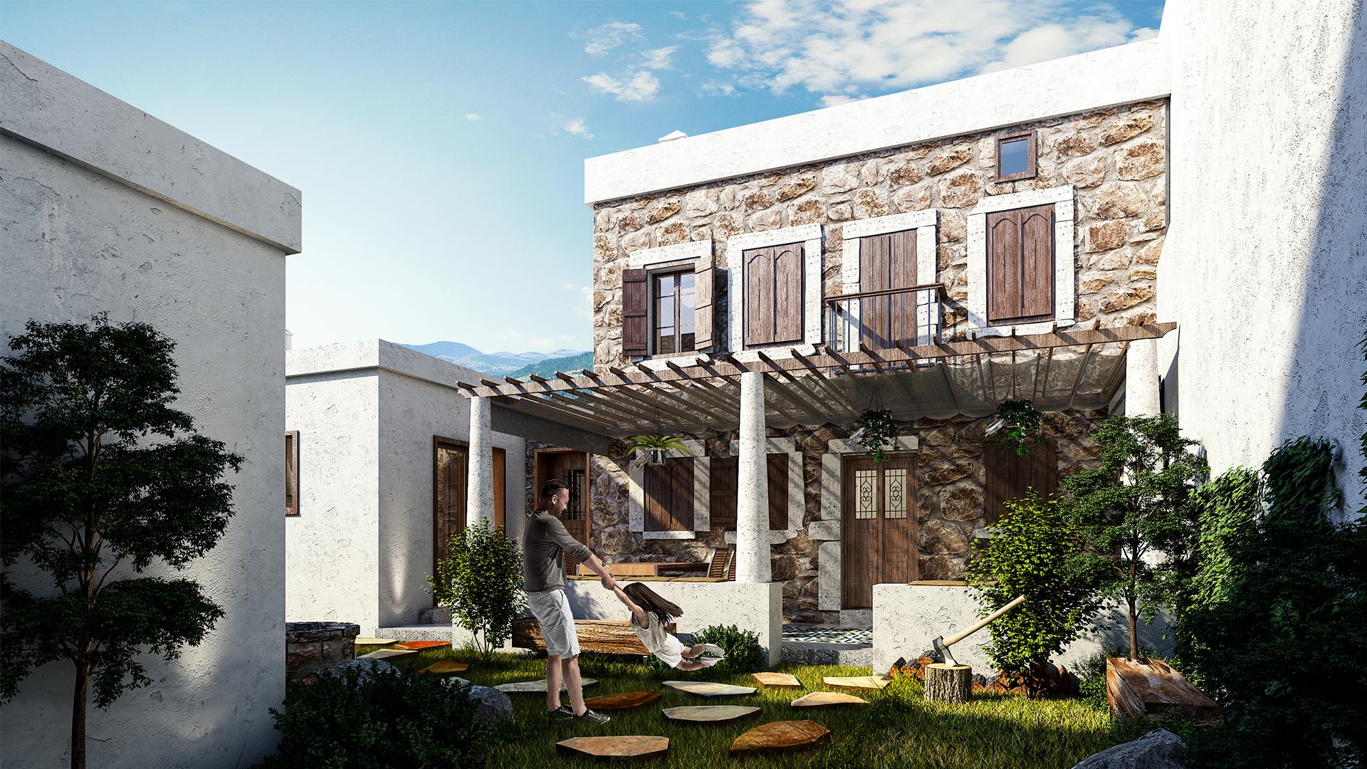 1920x1080 Bodrum Stone House 150dpi