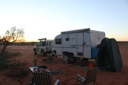 Bush camp on Ashburton Downs Rd