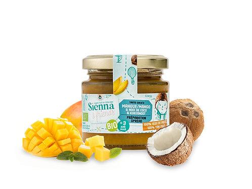 Sienna & Friends - Spread van mango en kokosnoot (BIO)