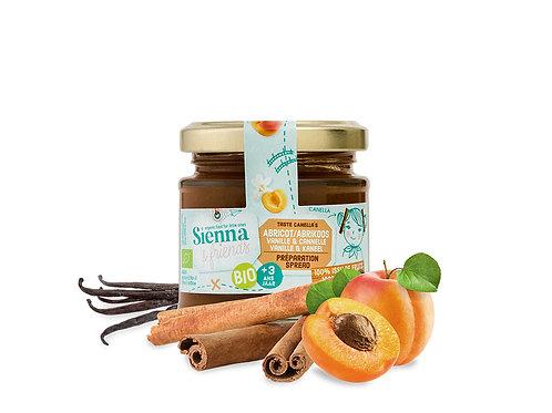 Sienna & Friends - Spread van abrikoos, vanille en kaneel (BIO)